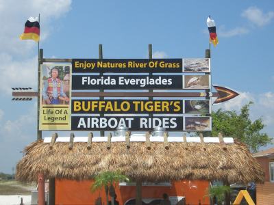 Buffalo Tigers Airboot Tour
